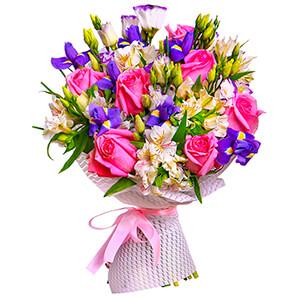 цветы ко дню матери Прекрасный букет