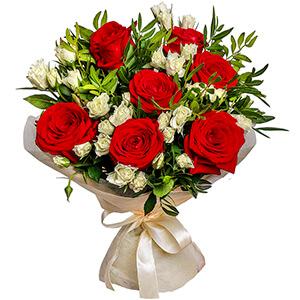 цветы ко дню матери Букет для мамы